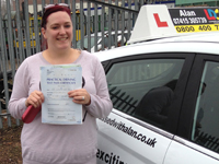 Samantha Passed with Alan