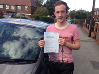Billy Evans passed with Alan