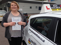 Charlotte Collins Passed with Alan