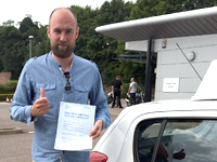 Daniel Vaughn passed with Alan