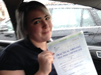 Lyndsey Bargh passed with Alan