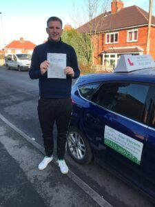 Jordan passed his driving test with https://leapfrogdrivingacademy.com