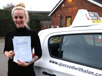 Savannah Smith passed with Alan