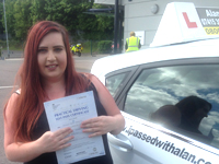 Jessica Goulty passed with Alan