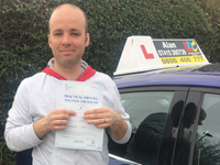 Shaun Chappell passed with Alan
